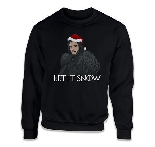 CREWNECK SWEATER - Let It Snow - TEP-639