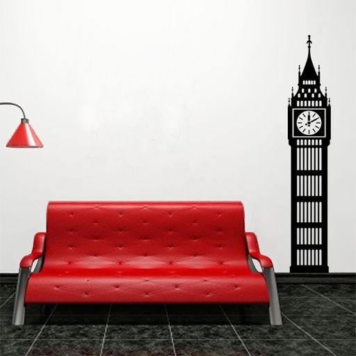vinilo decorativo del big ben ideal para dar un toque londinense big ben cheap