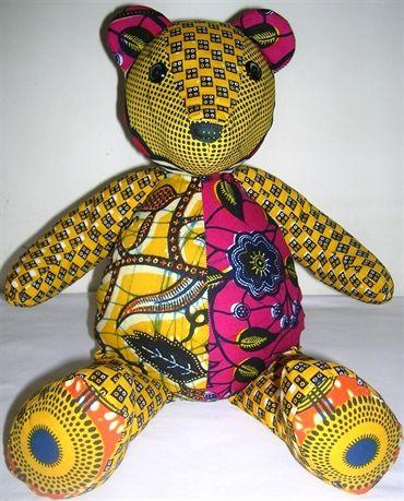 Native Belle Boutique . Fuchsia Bear