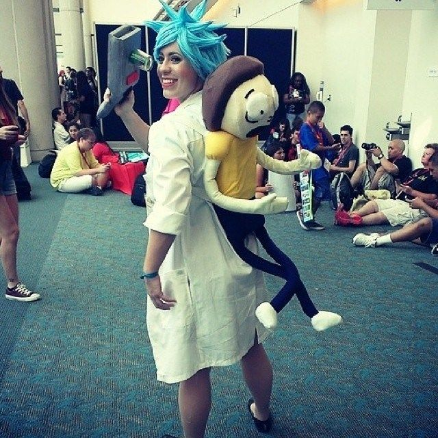 rick and morty costume - Google Search