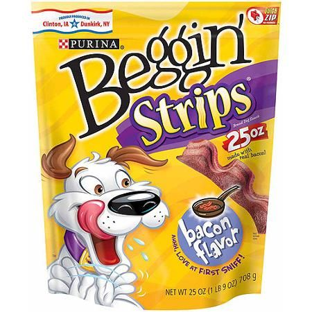 Purina Coupon - $3 off one bag Purina Beggin' Strips, 25 oz or larger