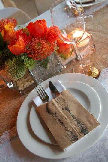 Each place setting