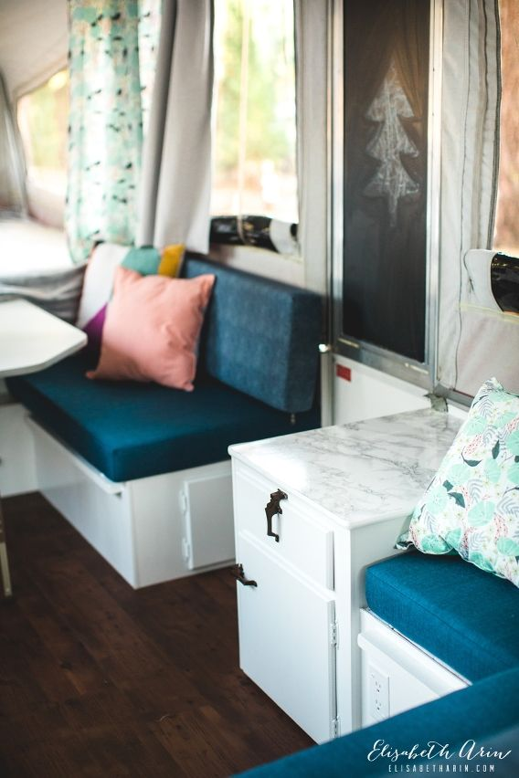 Our Pop-up camper remodel » Elisabeth Arin Photography