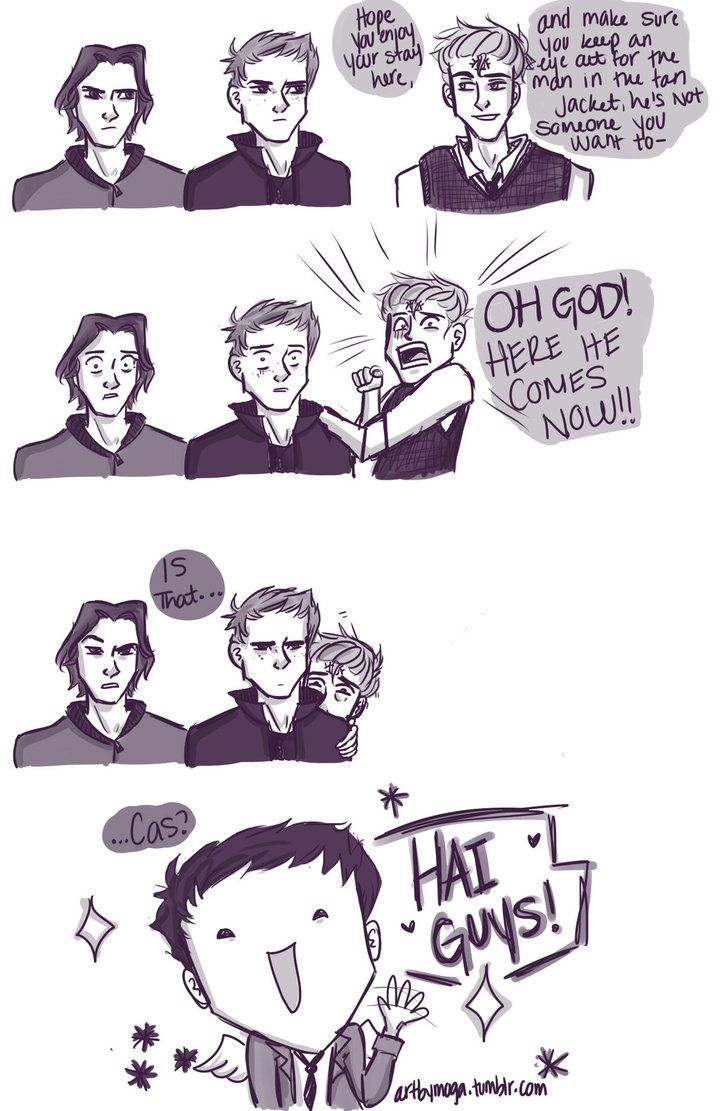 Welcome to Night Vale and Supernatural Crossover 3 by Artbymoga on deviantART /// @shealocke