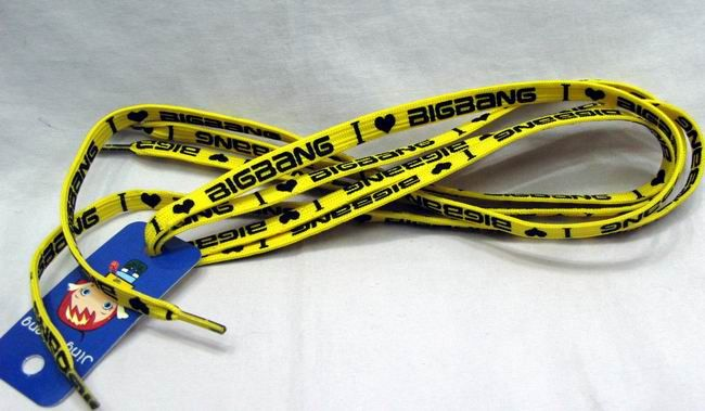 Bigbang Shoelaces. Yes, I do believe I need these. someone get them away from me before i buy way too  many..