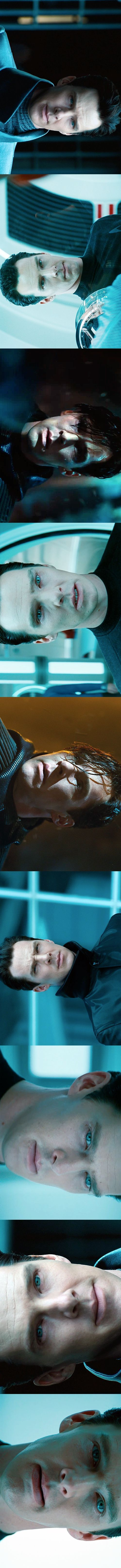 Ben as Khan in Star Trek Into Darkness :) I actually watched this movie cause he was in it.  It was GOOD! And Ben was the bad guy <3