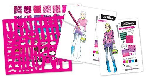 18 Best Fashion Design Images On Pinterest Fashion Design Paper Fashion And Craft Kits