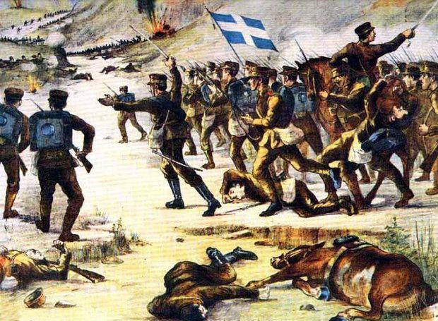 Πολεμική αναμέτρηση ανάμεσα στη Βαλκανική Συμμαχία (Ελλάδα, Βουλγαρία, Σερβία, Μαυροβούνιο) και της θνήσκουσας Οθωμανικής Αυτοκρατορίας.