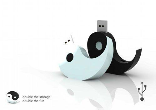 yin yang pen drives Yin Yang USB Flash Drives are Uber Cool