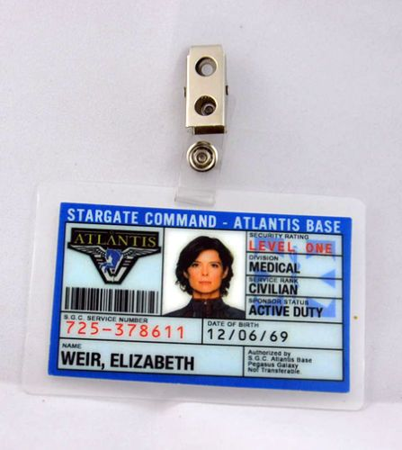 Stargate-Command-Atlantis-ID-Badge-Elizabeth-Weir