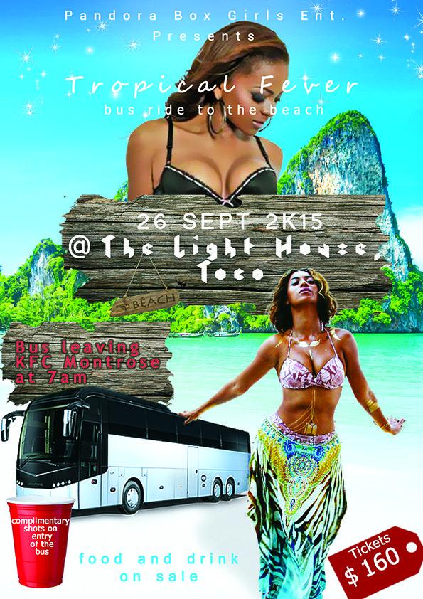 Beach Trip Flyer Design