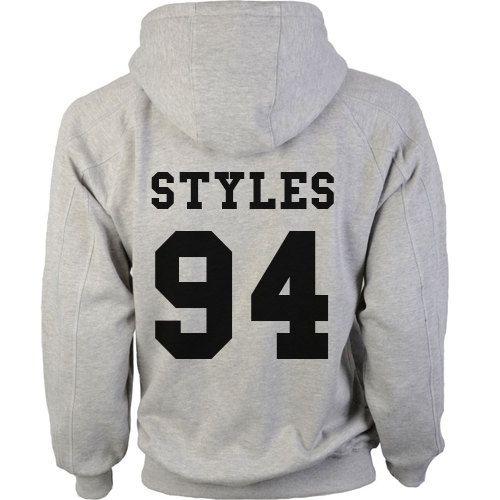 One Direction Year Grey Hoodie Sweatshirt Unisex by TeesbyJP, £19.99 XL, will take Horan 93, Styles 94, Malik 93, Payne 93, or Tomlinson 91