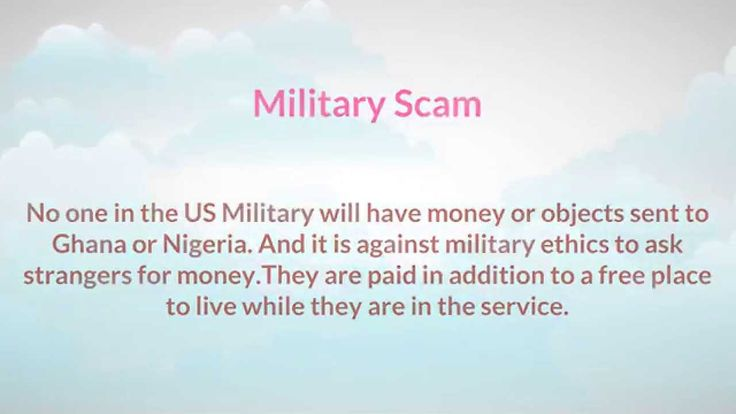 military dating scams phone Woman loses $50,000 in military online dating scam registered nurse scammed by person using stolen identity of army sergeant douglas kennedy reports on the growing crime trend a registered nurse who joined a popular dating app to look for love ended up being scammed out of thousands of dollars.