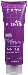 The Bargain Blonde: Calling all Blondes. Purple shampoo: why and how it works!