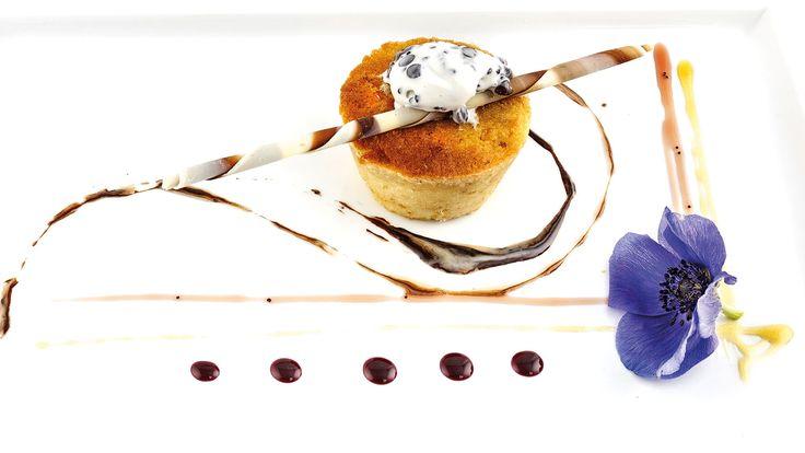 """""""Pan Morbido al sale grosso con stracchino gelato"""" di Simone Ciccotti, chef  dell'Antica Trattoria San Lorenzo - Perugia (PG)  #food #vegan #lamadia"""