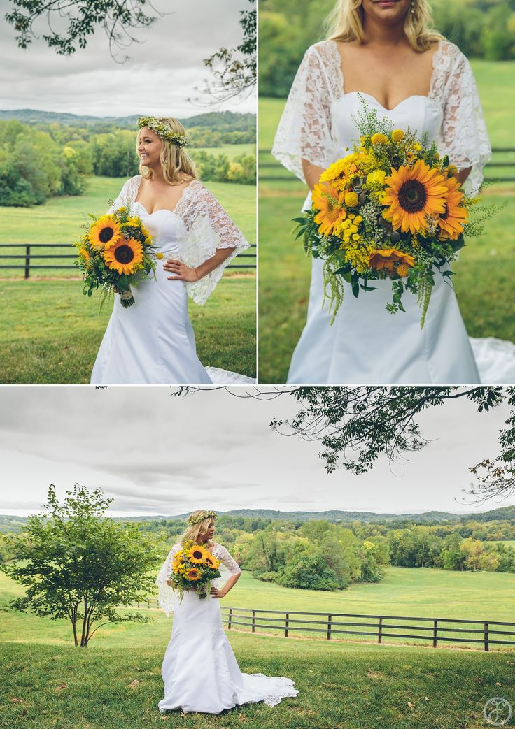 17 best images about sunflower wedding on pinterest for Sunflower dresses for wedding