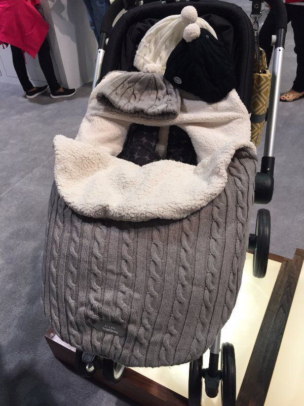 Pin for Later: 146 New Baby and Kid Products You'll Be So Glad Are Coming in 2016 JJ Cole Cable-Knit Footmuff JJ Cole will introduce an adorable cable-knit footmuff in August 2016.