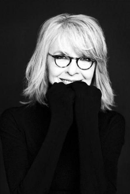 Diane Keaton, I love her personality, her look, her style , her laugh. Inspirational!