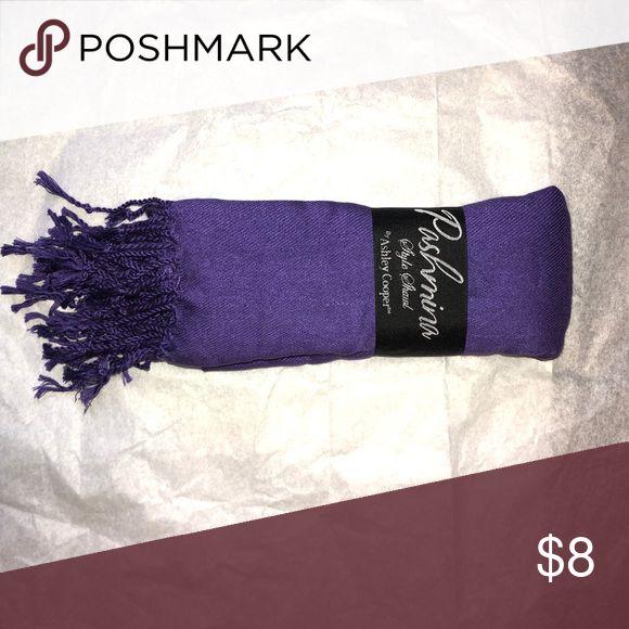 Scarf Pashmina shawl 60x180 cm BRAND NEW Ashley Cooper Accessories Scarves & Wraps