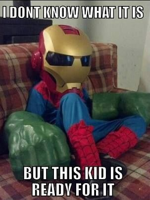 Awesome costume!! What a superhero :)