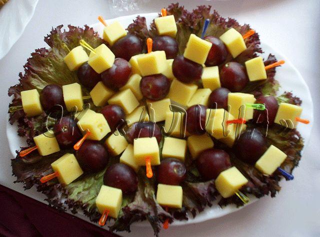 Фруктовые канапе | Записи Bon Appetit | УОЛ