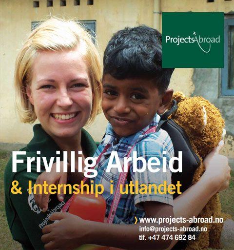 Gratis brosjyre om frivillig arbeid med Projects Abroad.