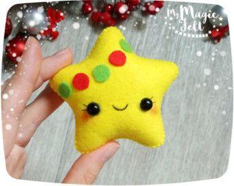 Christmas ornament felt Gingerbread ornaments by MyMagicFelt