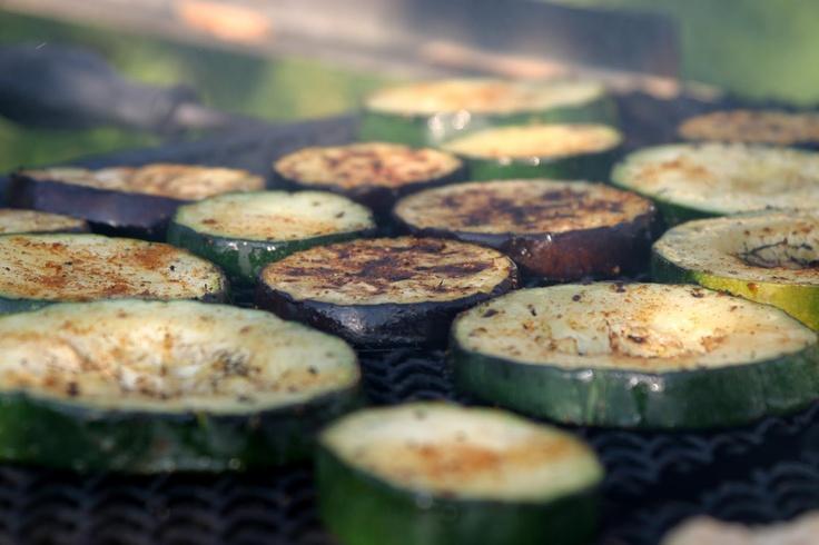 Grilled Vegetable Marinades: lemon & garlic was great on grilled veggies