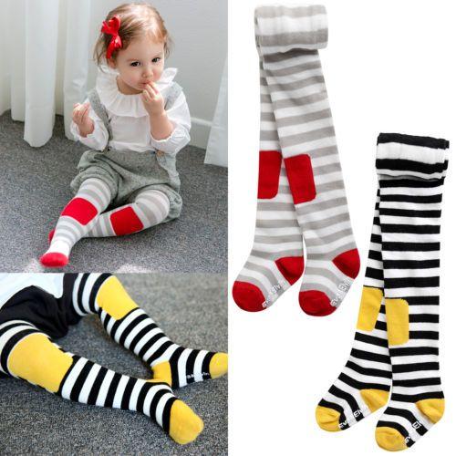 Vaenait-Baby-KOREA-Kids-Girls-Tights-Bottom-Trousers-Socks-2Set-Dodo-100-210mm