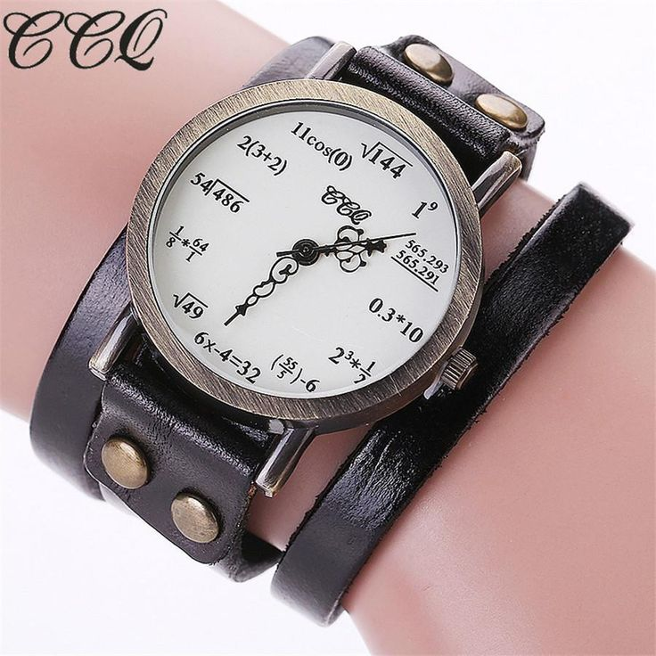 You will love this one: Vintage Creative ... Buy this now or its gone! http://jagmohansabharwal.myshopify.com/products/vintage-creative-leather-math-formula-equation-wrist-watch?utm_campaign=social_autopilot&utm_source=pin&utm_medium=pin