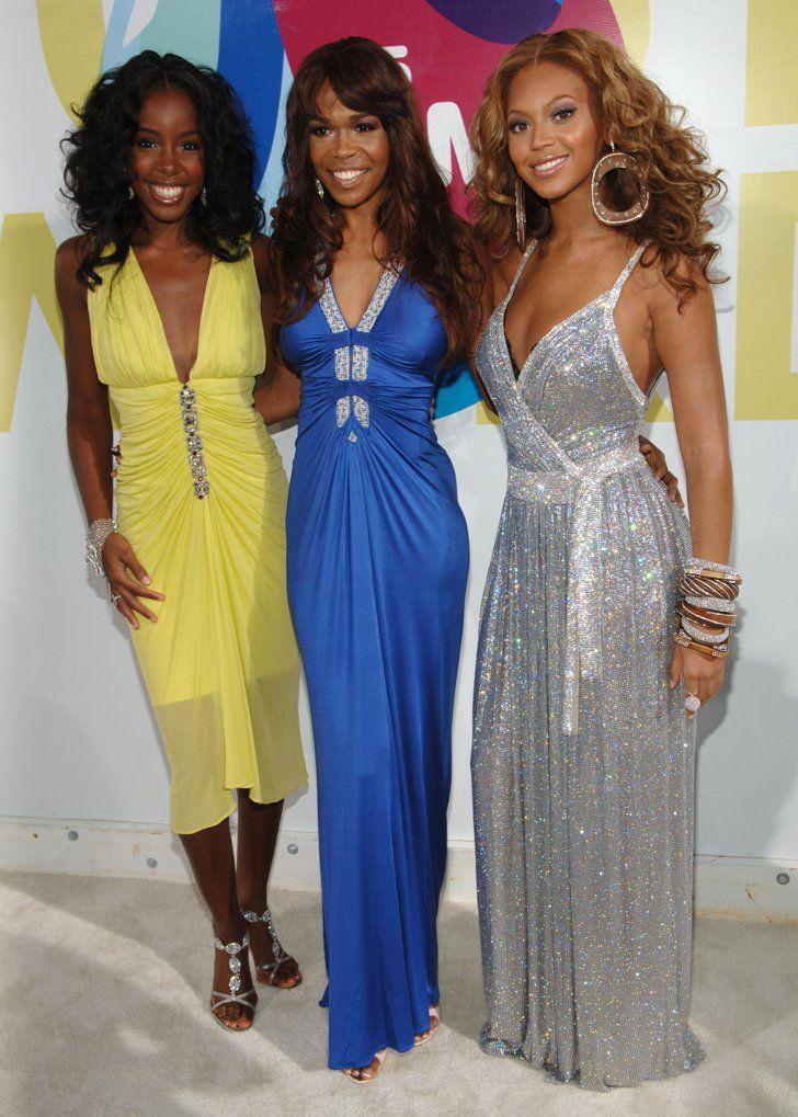 """Pin for Later: Voilà Ce à Quoi Ressemblaient les MTV VMAs Il y a 10 Ans Les Destiny's Child Étaient Là La vidéo pour """"Lose My Breath""""avait été nominée, mais c'est Missy Elliott et Ciara qui avaient remporté le trophée avec """"Lose Control."""""""