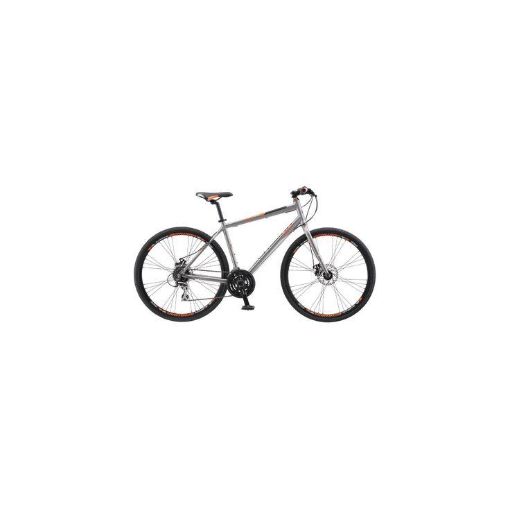 Schwinn Men's Phocus 1500 28 Flat Bar Road Bike - Gray