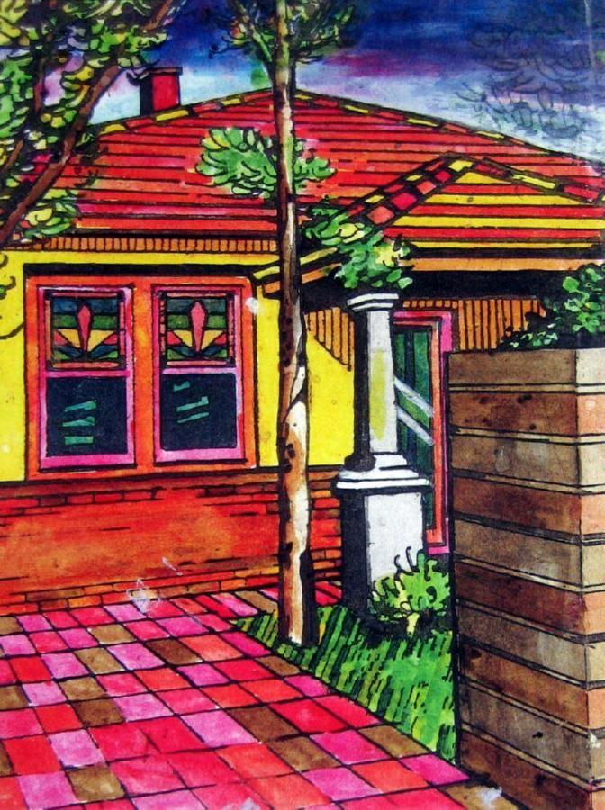 Howard Arkley Australian artist -