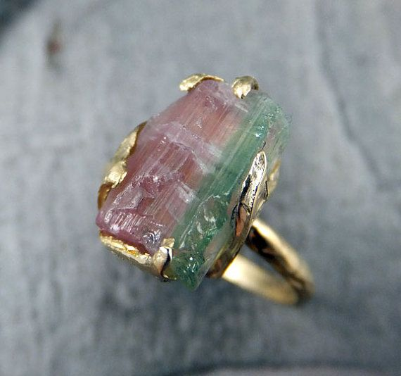 Hey, I found this really awesome Etsy listing at https://www.etsy.com/listing/191279461/raw-rough-uncut-watermelon-tourmaline