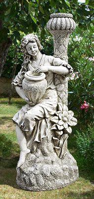 STA02/S - VENERE IRIS - Vendita statue da giardino in cemento ornamentali