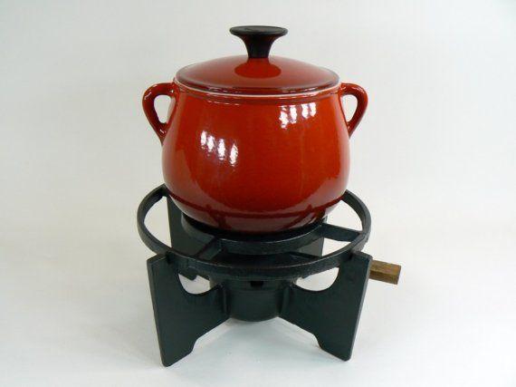 vintage cousances fondue pot wishlist kitchen fondue pinterest pots vintage and fondue. Black Bedroom Furniture Sets. Home Design Ideas