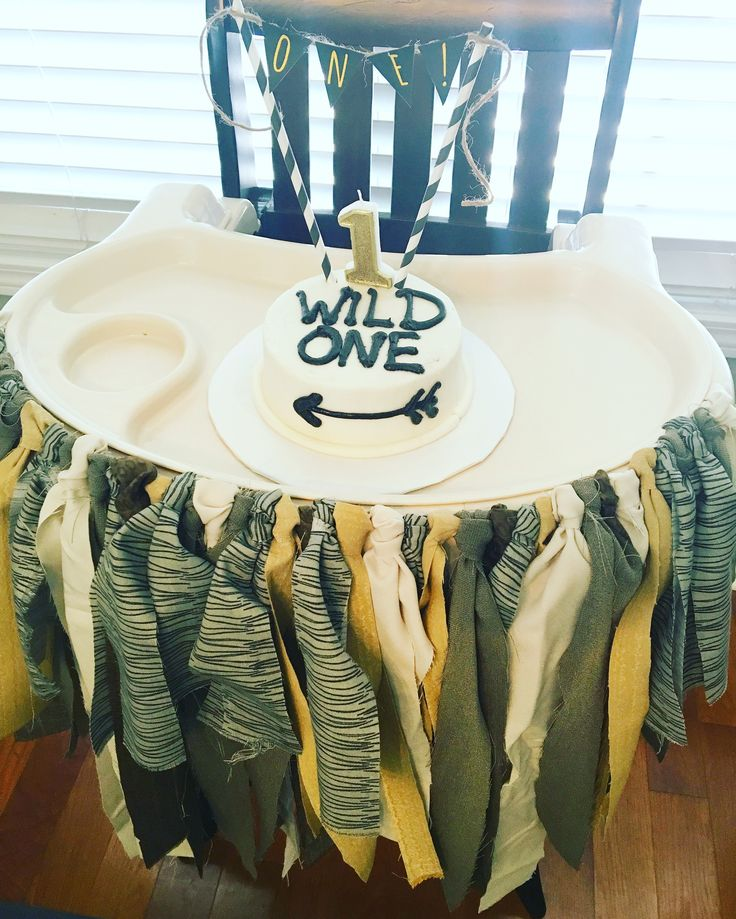 "Smash cake.  ""A Wild One"" Where the Wild Things Are First Birthday Party"
