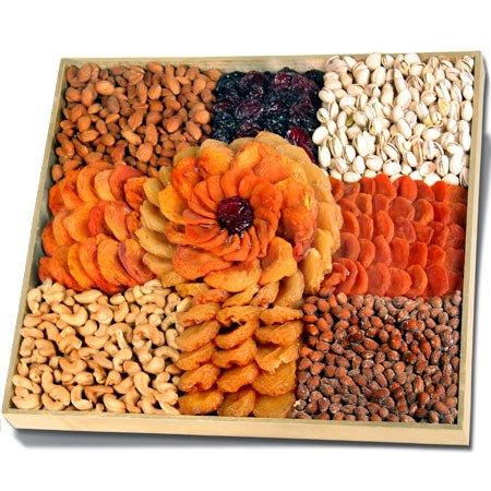Executive Rose™ - Dried Fruits & Nuts Platter