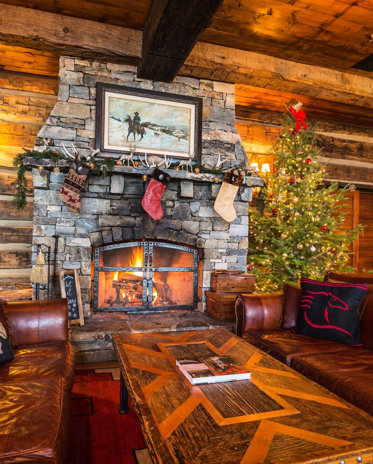 The fire is so delightful in the Granite Lodge at The Ranch at Rock Creek.