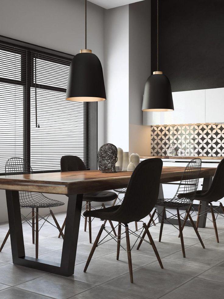 Summera m matt in 2019 schwarze lampen lights in black for Designerleuchten esszimmer