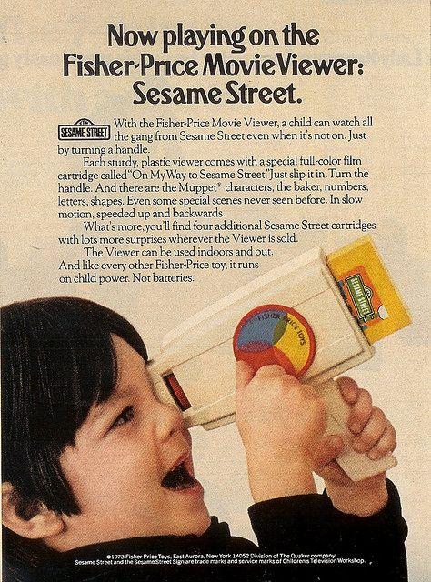 Fisher Price Movie Viewer toy
