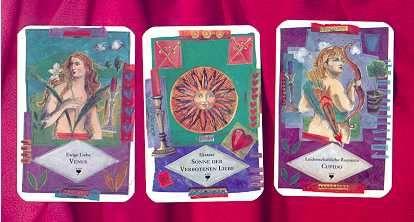 Die Karten und die Legetechniken für das Orakel werden ausführlich ... Kostenloses tägliches Tarot Kartenlegen   www.onlinetarotkartenlegen.de/