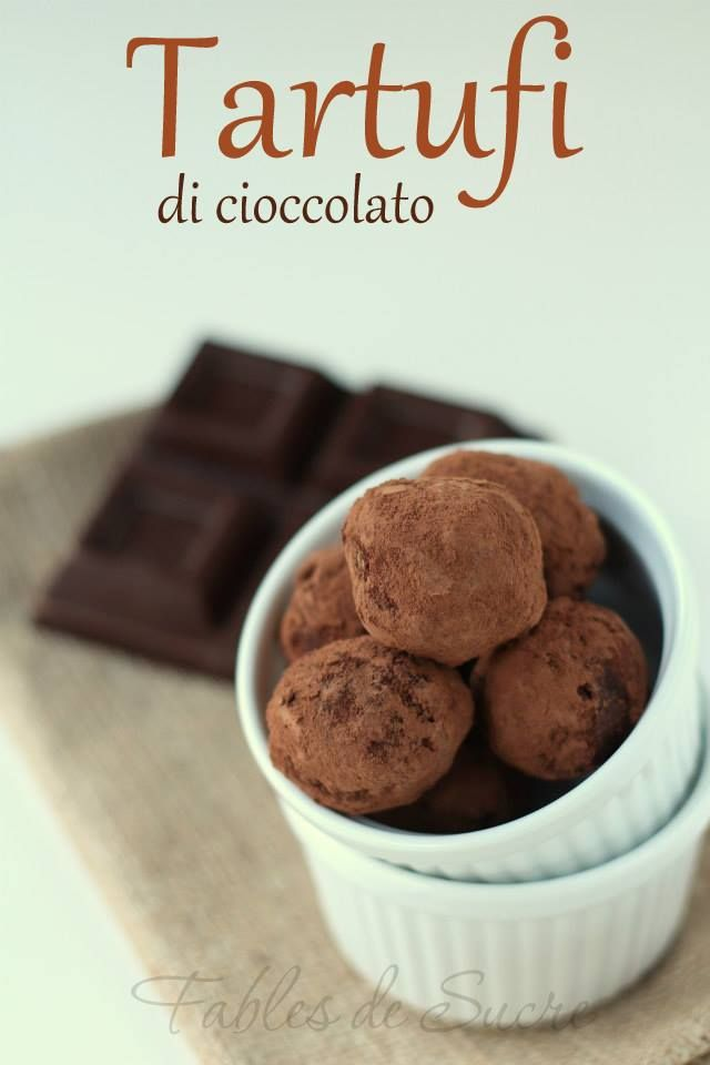 Tartufi di cioccolato, dalla ricetta di un maestro come Luca Montersino. Sono piccoli, carini, cioccolatosi, golosi ma soprattutto si fanno in fretta.