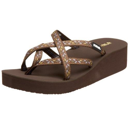 #Teva #Women's Mandalyn Wedge Ola Flip #Flop   a bit disappointed   http://amzn.to/HukWJM
