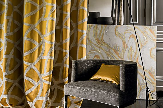 @latorredecora http://latorredecoracion.com/casamance/ Carrare fabrics by Casamance   Jane Clayton