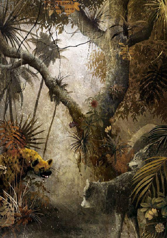 libro selva 04 Redescubriendo a Kipling gracias a las ilustraciones de Gabriel Pacheco