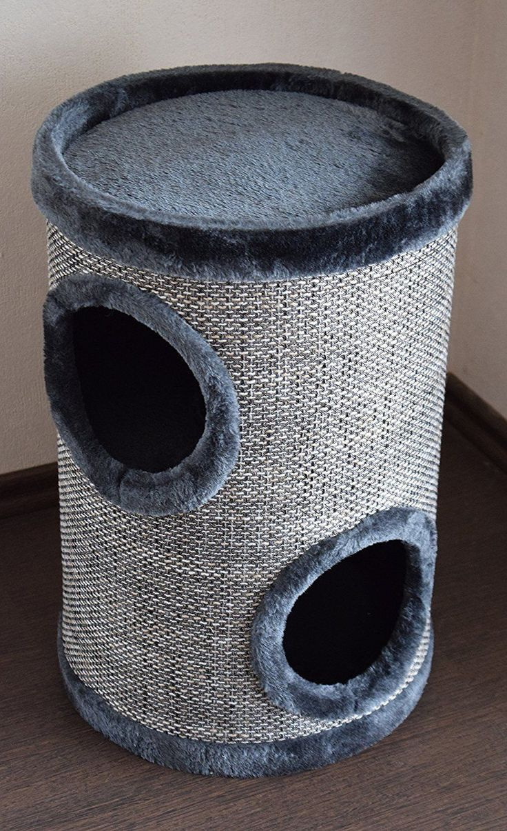 'Lemio Bin Browny Cat Scratching Post/Cat Tree Cat Scratching Post 50 cm/Den – Furniture for Cats ** Find out more at the image link. #CatScratchersandFurniture