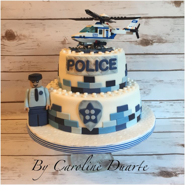 Lego City Police Cake Ideas