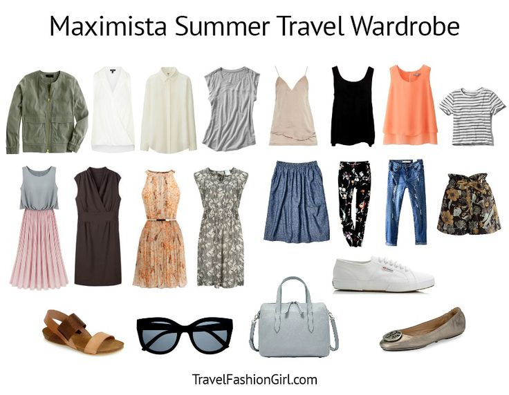 Our Maximista Packing List shows you how to pack light and have the right clothes, whether you're going on a Round-the-World trip or a 2 week vacation.