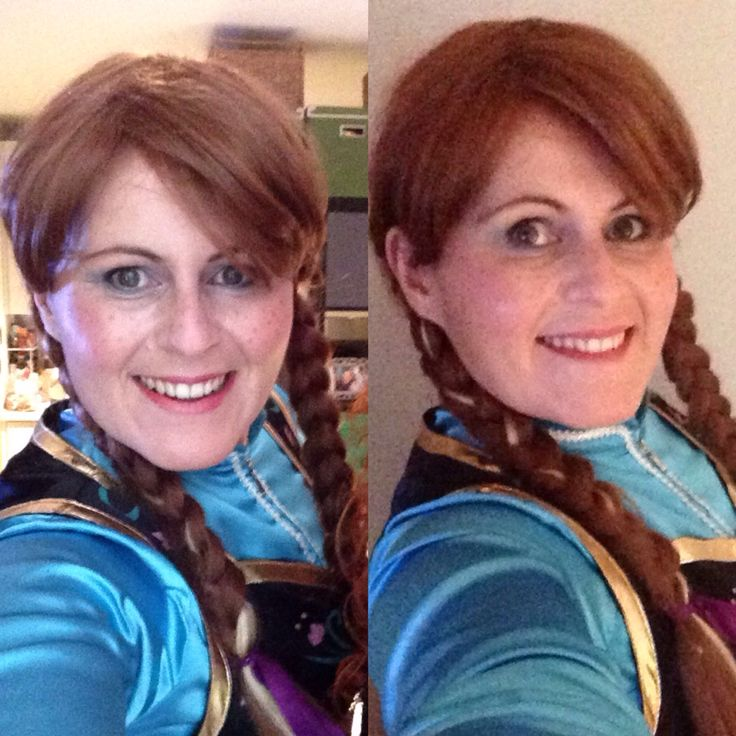 Christmas Anna from frozen